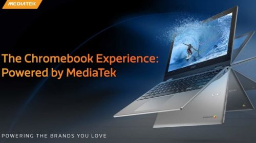 Chromebooks with NVIDIA RTX graphics, MediaTek CPU might be coming