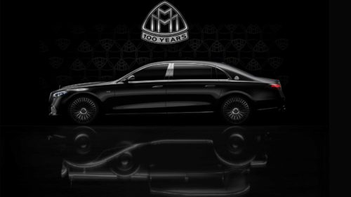 New Mercedes S-Class V12 Teased To Celebrate Maybach Centennial