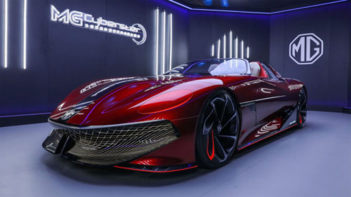 MG Cyberster concept is a slick EV sports car for the future