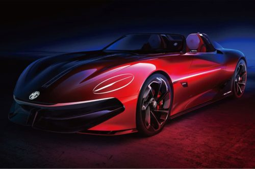 MGB reborn as an electric supercar