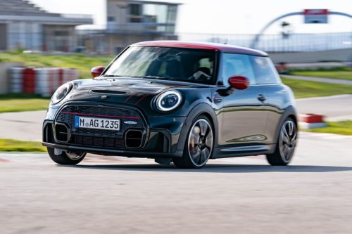 MINI JCW hatch updated for 2021