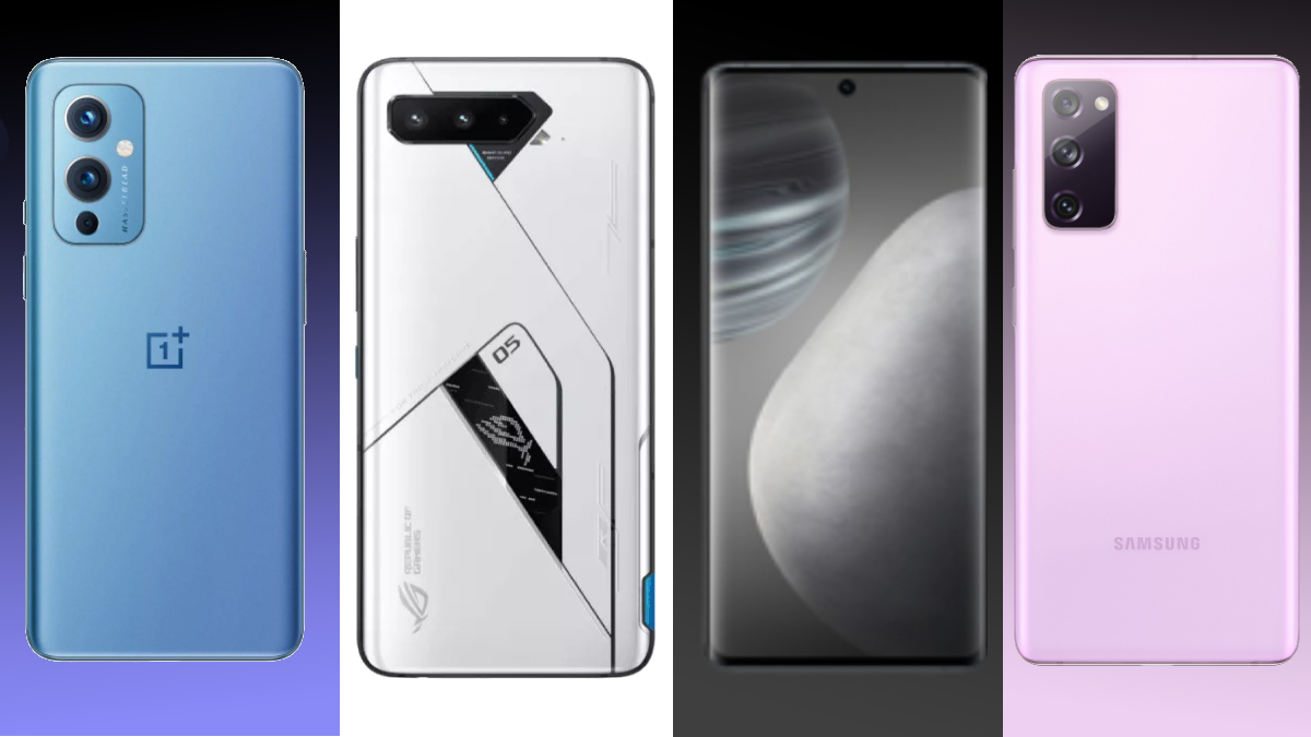OnePlus 9 vs Vivo X60 vs Samsung Galaxy S20 FE 5G vs ROG Phone 5 comparison: specs, design, features & price