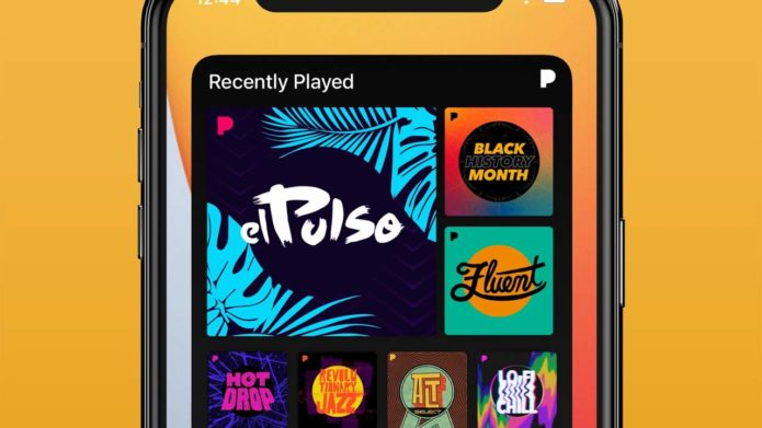 Pandora launches a new home screen widget for iOS and iPadOS