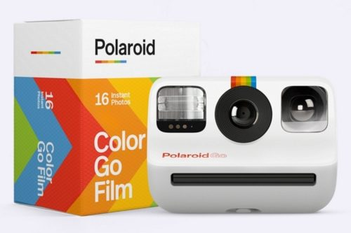 Polaroid Go is the world's smallest analogue instant camera