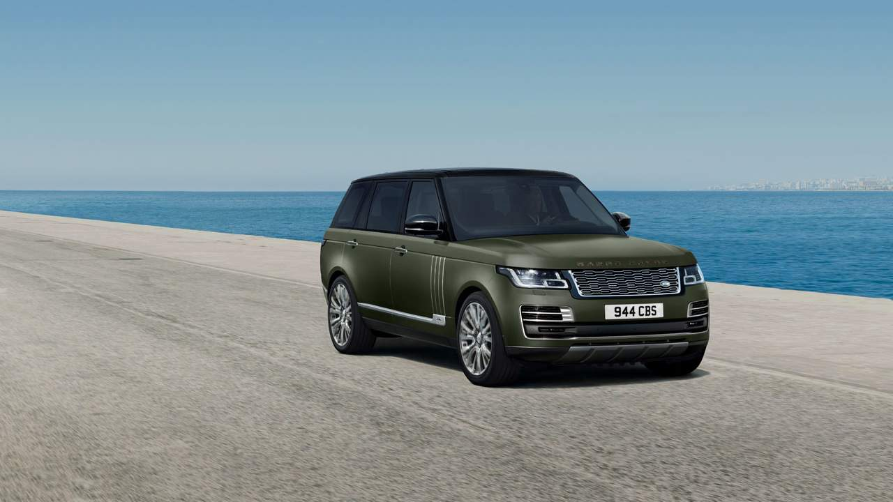 Range Rover SVAutobiography Ultimate editions are packed with luxury