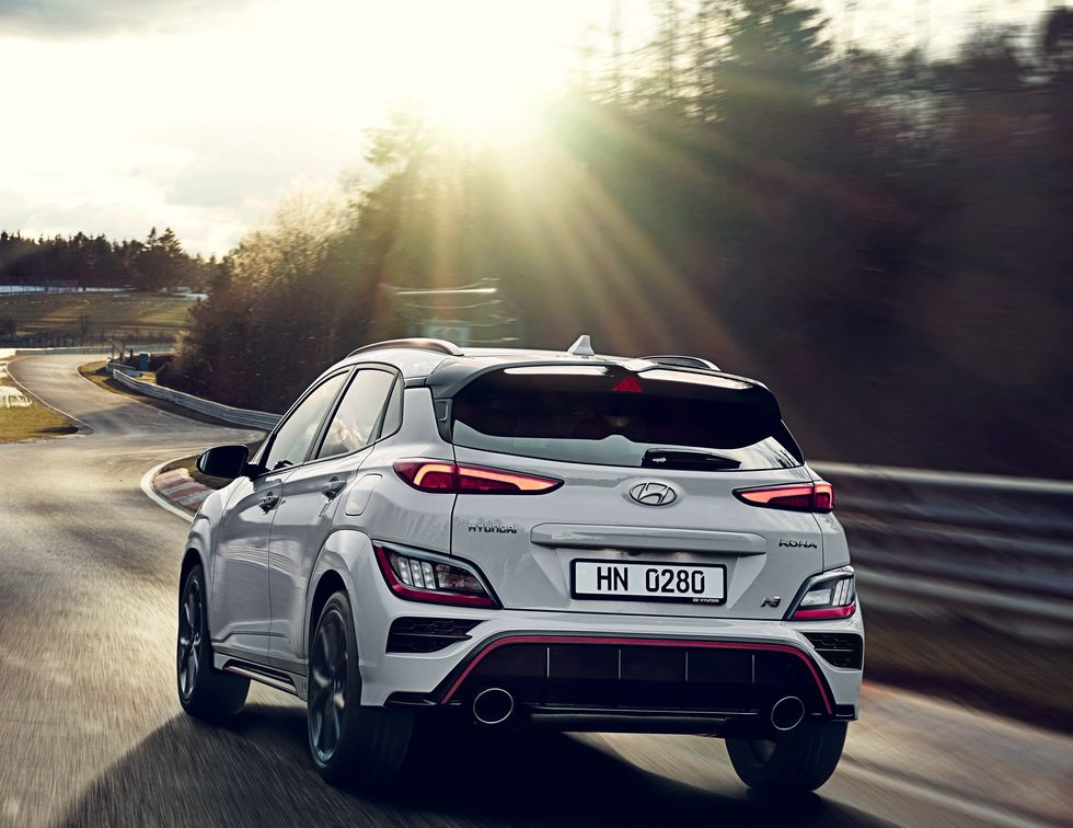 286-HP 2022 Hyundai Kona N Brings the Crossover to the Performance Side