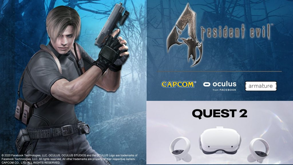Resident Evil 4 VR for Oculus Quest 2 trailer: see this classic game in action
