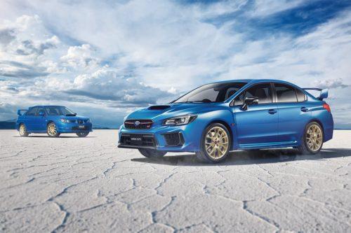 Subaru WRX STI Final Edition revealed