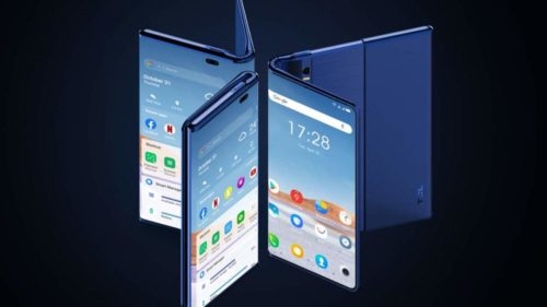 TCL has a new foldable phone… that's also a rollable phone