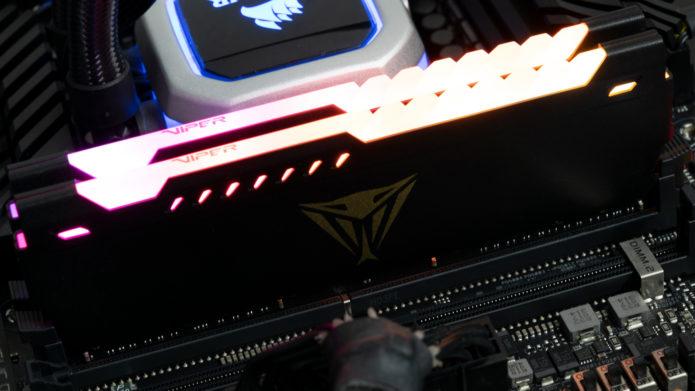Patriot Viper Steel RGB DDR4-3600 C20 2x16GB Review