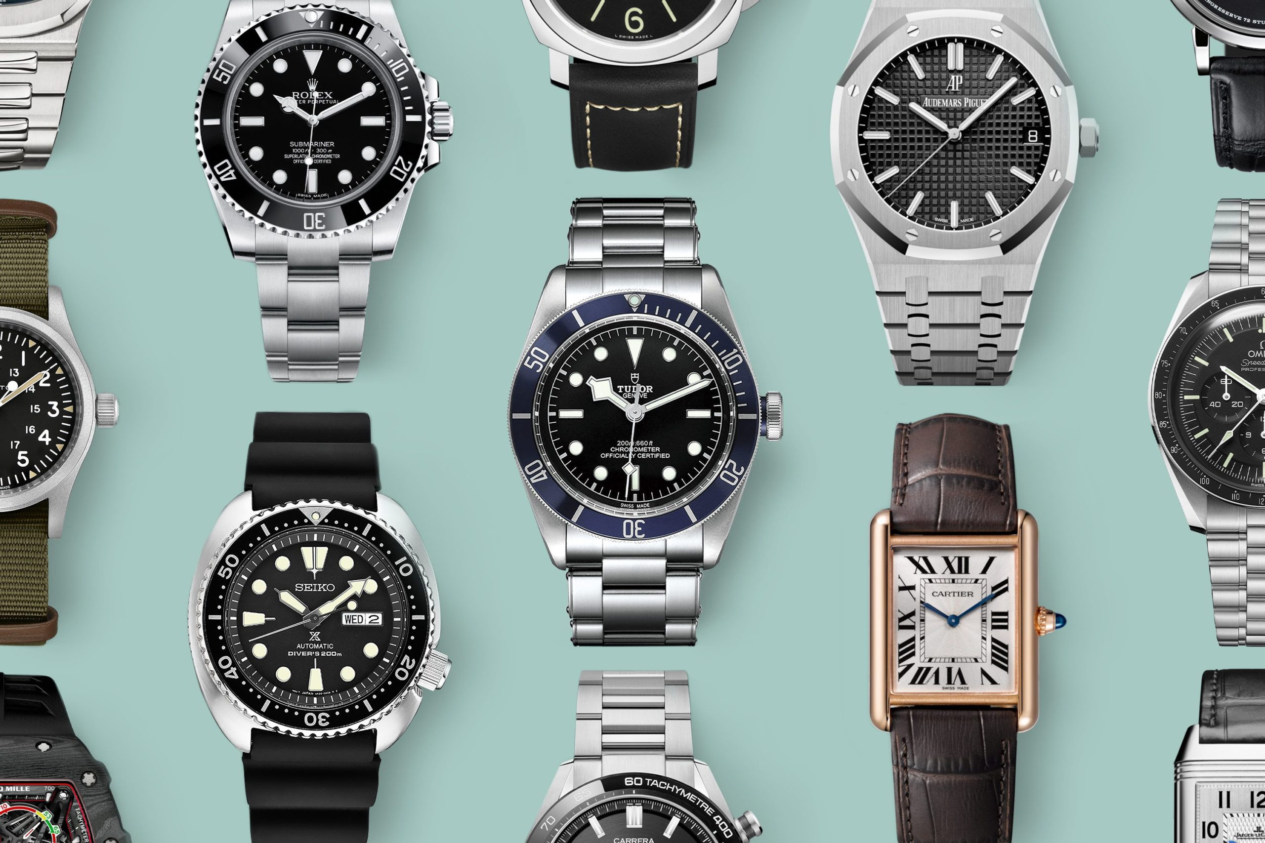 The Top 20 Watch Brands to Know