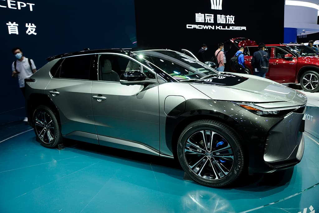 """Toyota's first EV will be """"expensive"""""""