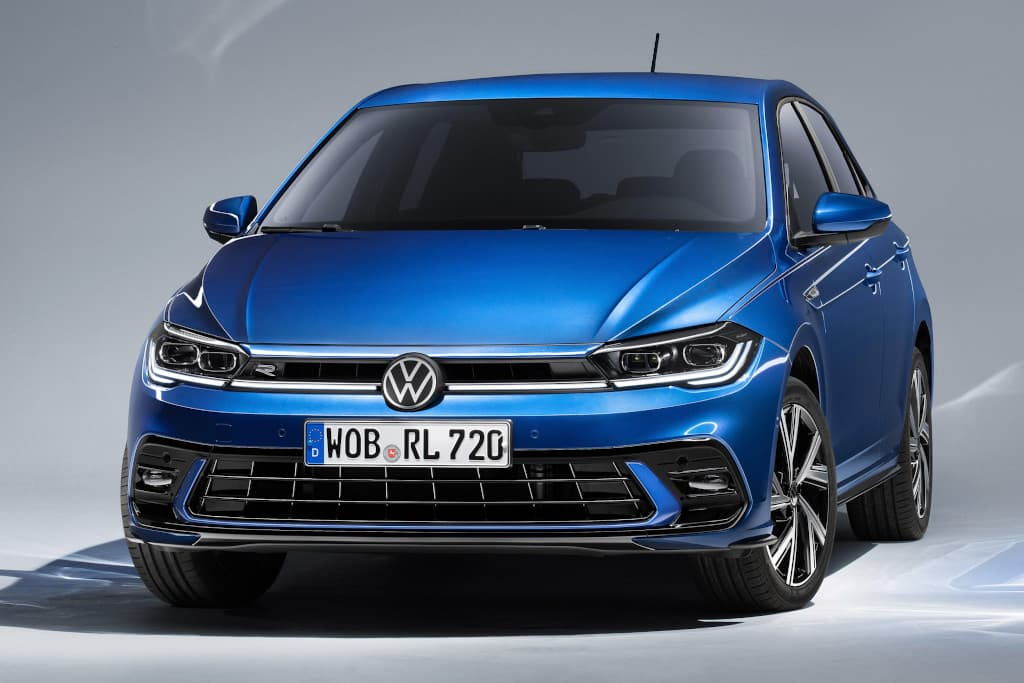 Facelifted Volkswagen Polo gets Golf Mk8 look