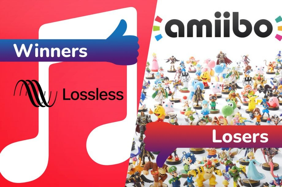 Winners and Losers: Apple Music goes lossless while Nintendo's Amiibo gaffe sparks outrage