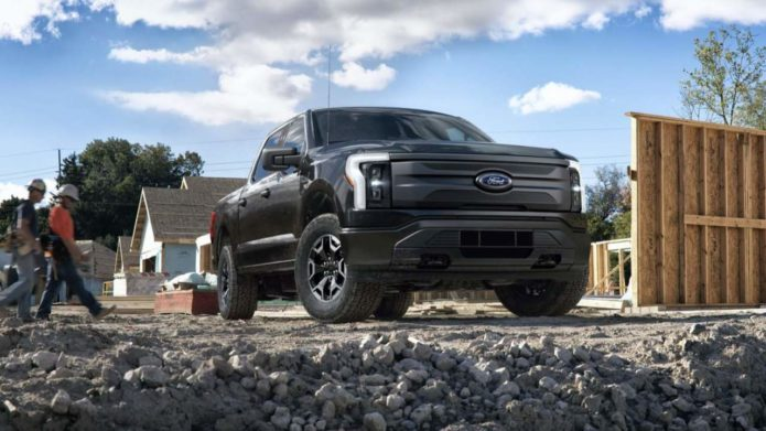 This 2022 F-150 Lightning Pro is Ford's actual $40k electric pickup