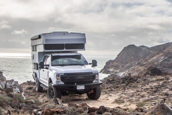 This Company Will Turn Your Pickup Truck Into an Off-Road Truck Camper