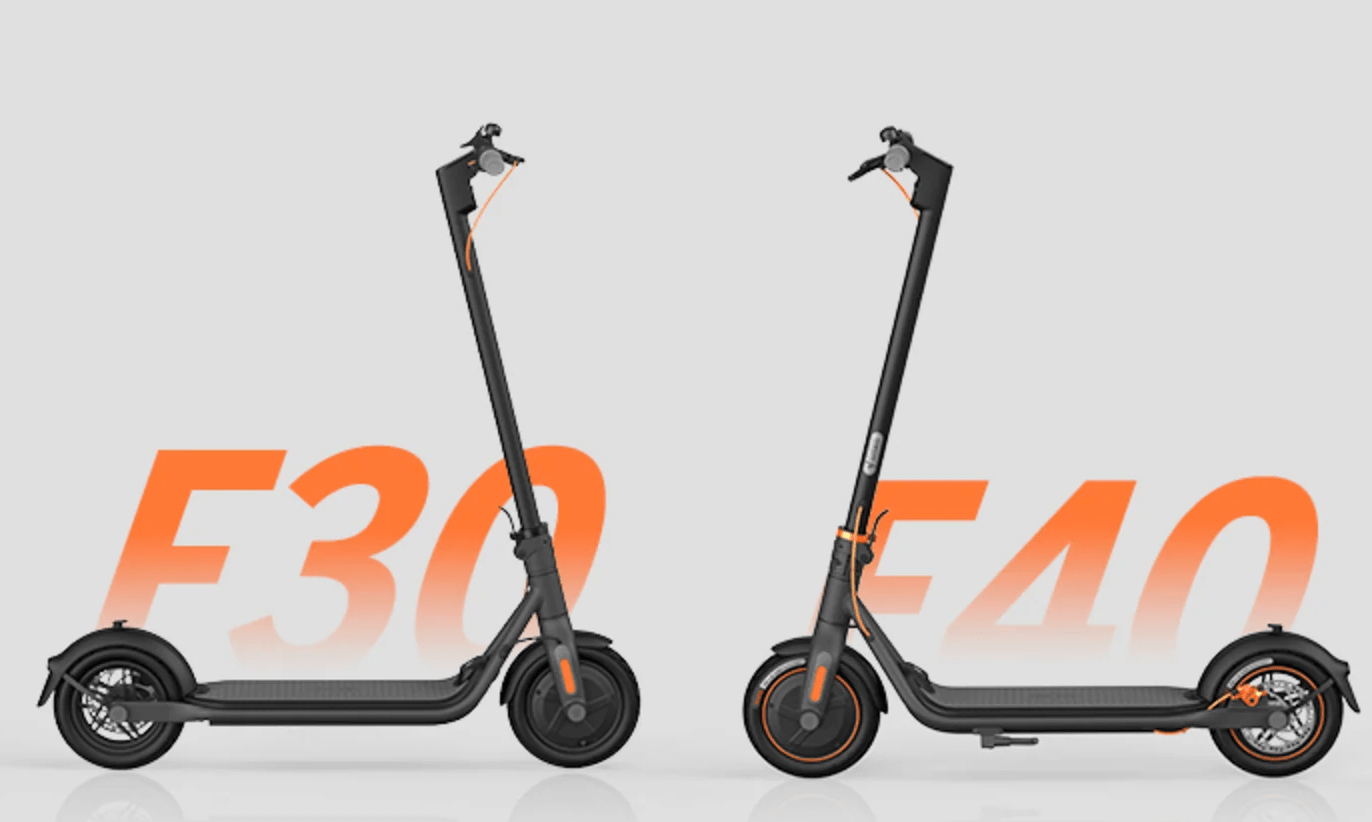 Ninebot KickScooter F30 and F40 launches on Indiegogo