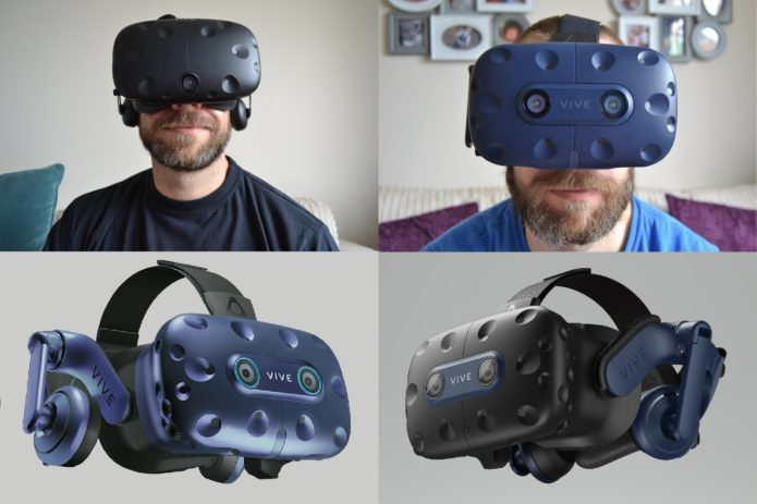 HTC Vive Pro vs HTC Vive Pro Eye vs HTC Vive Pro 2