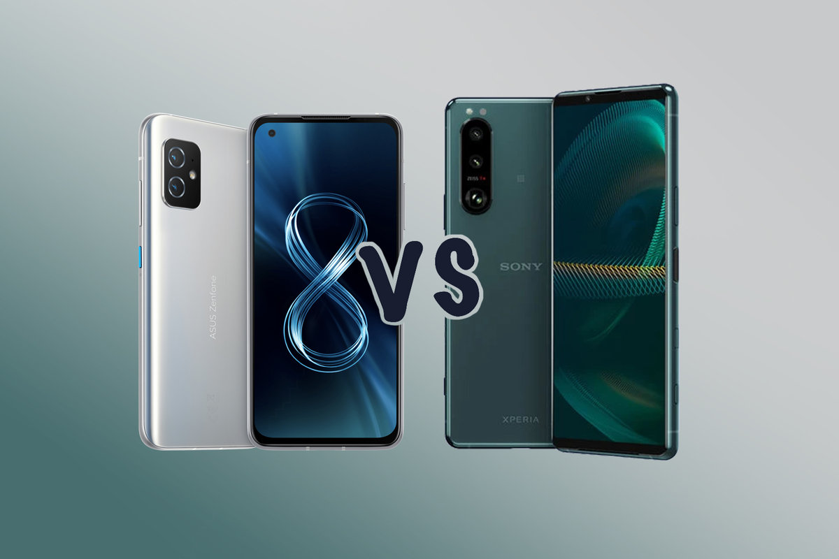 Asus Zenfone 8 vs Sony Xperia 5 III: What's the difference?