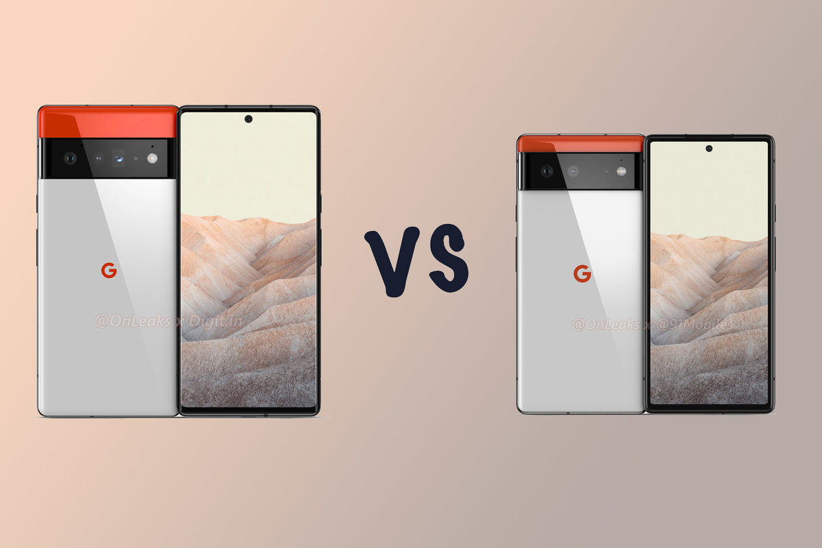 Google Pixel 6 Pro vs Pixel 6: What's the rumoured difference?