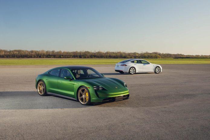 Tested: 2020 Porsche Taycan 4S vs. Tesla Model S Long Range Plus