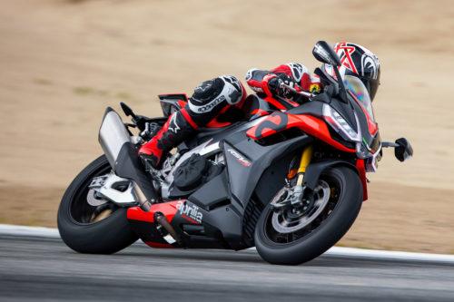 2021 Aprilia RSV4 and RSV4 Factory Track Test at Laguna Seca