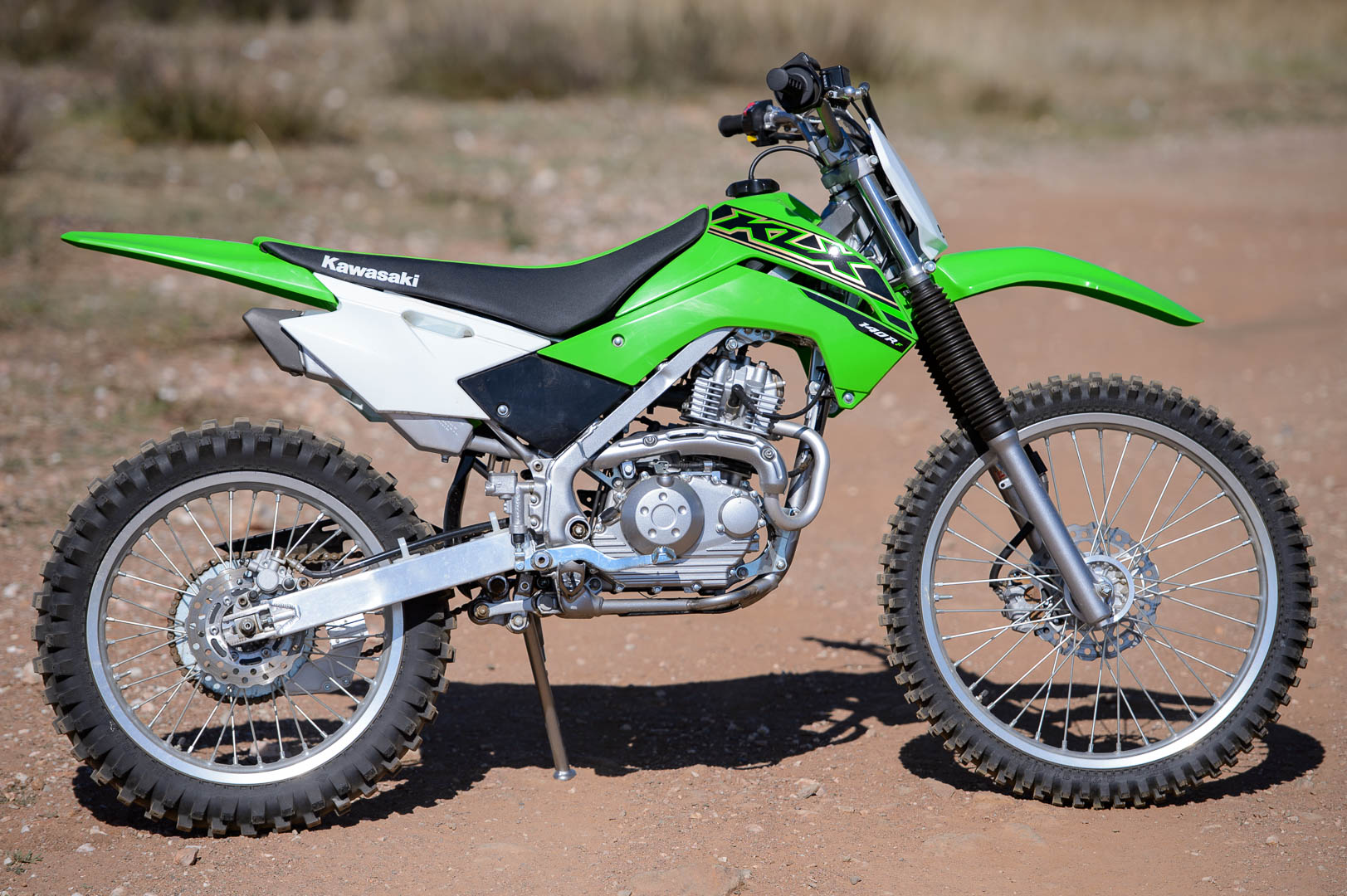 2021 Kawasaki KLX140R F Review: Off-Road Motorcycle Test