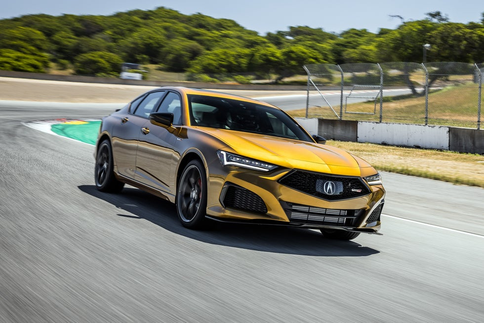2021 Acura TLX Type S Remembers What's Important