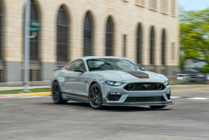 Tested: 2021 Ford Mustang Mach 1 Fills in a GT350-Sized Gap