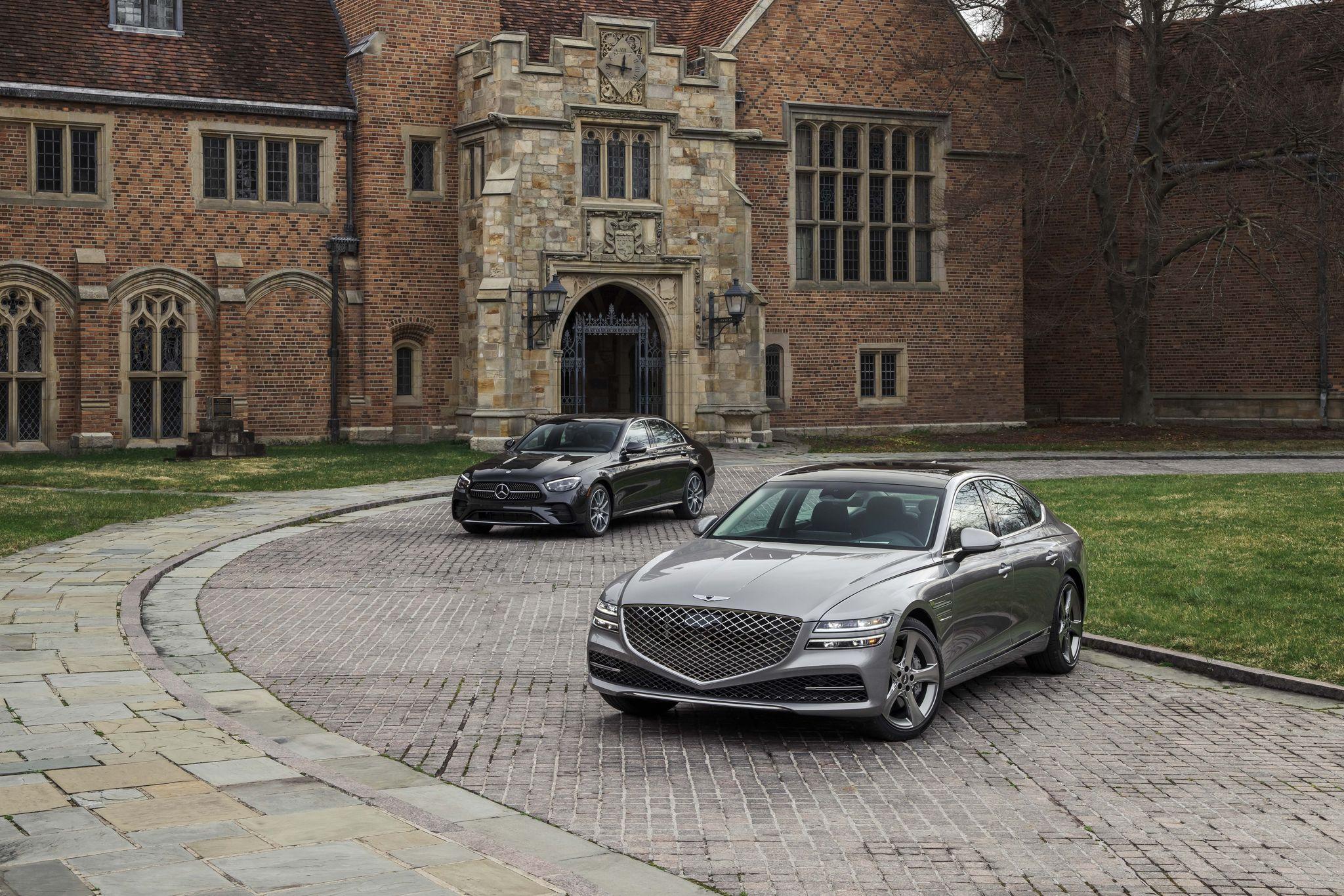 Tested: 2021 Genesis G80 3.5T vs. Mercedes-Benz E450 4Matic