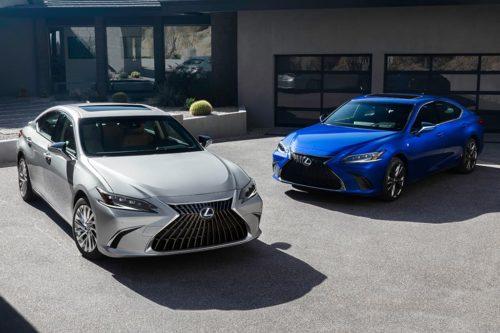 Lexus ES range expands