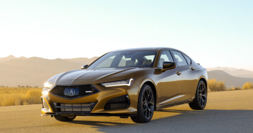 Acura prices up its epic 2021 TLX Type S – but you'll need to act fast