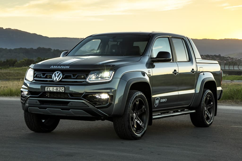 Volkswagen Amarok W580 off-road flagship coming