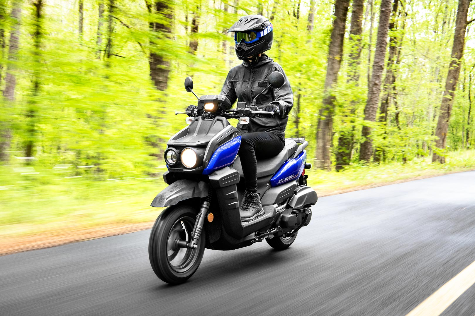 2022 Yamaha Zuma 125 ADV Scooter First Look (9 Fast Facts)