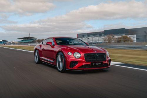 2022 Bentley GT Speed Is a Sharper Continental