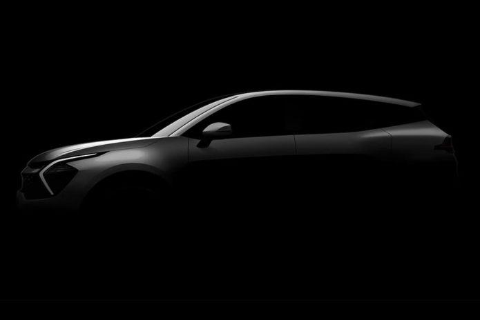 Next-gen Kia Sportage revealed