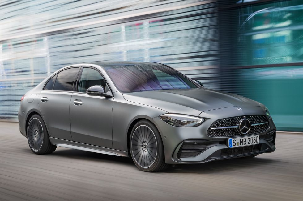 2022 Mercedes C-Class Overhauled with New Tech and a Fresh Design