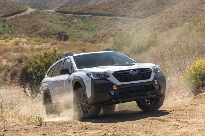 Subaru Wilds Out with the 2022 Outback Wilderness