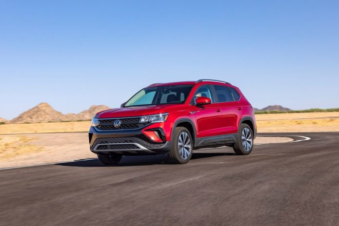 2022 Volkswagen Taos Plays Big Among Subcompact SUVs
