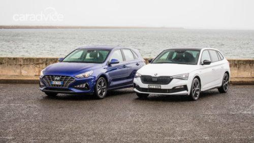 2021 Skoda Scala Monte Carlo v 2021 Hyundai i30 Elite hatch Comparison
