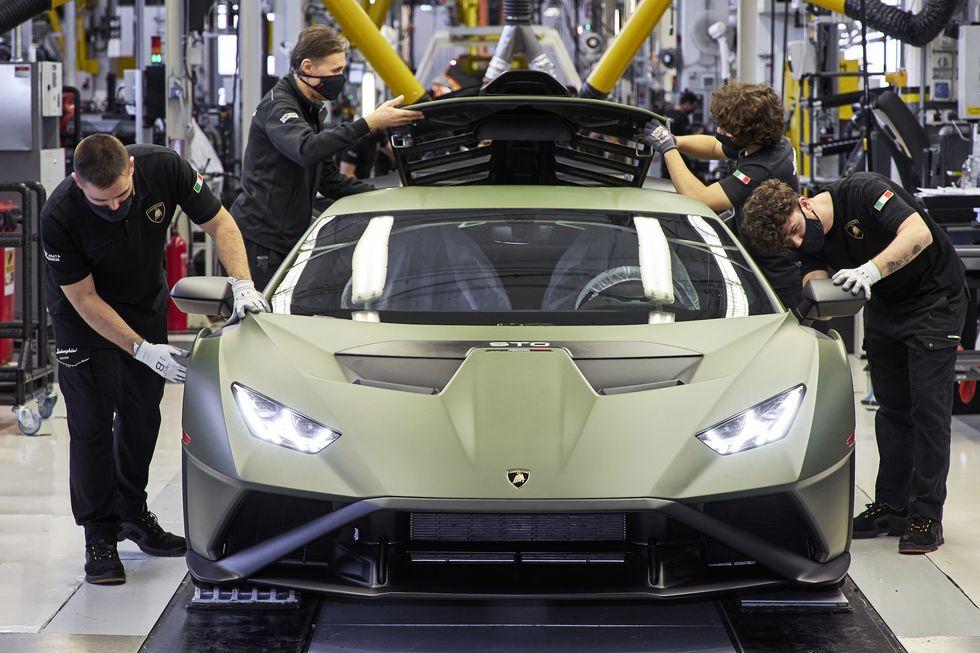 Lamborghini's Future Involves Some Crazy Electric Plans