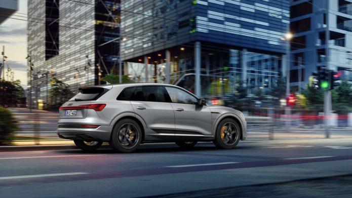 2022 Audi e-tron and e-tron Sportback S Line Black Edition has a sportier vibe