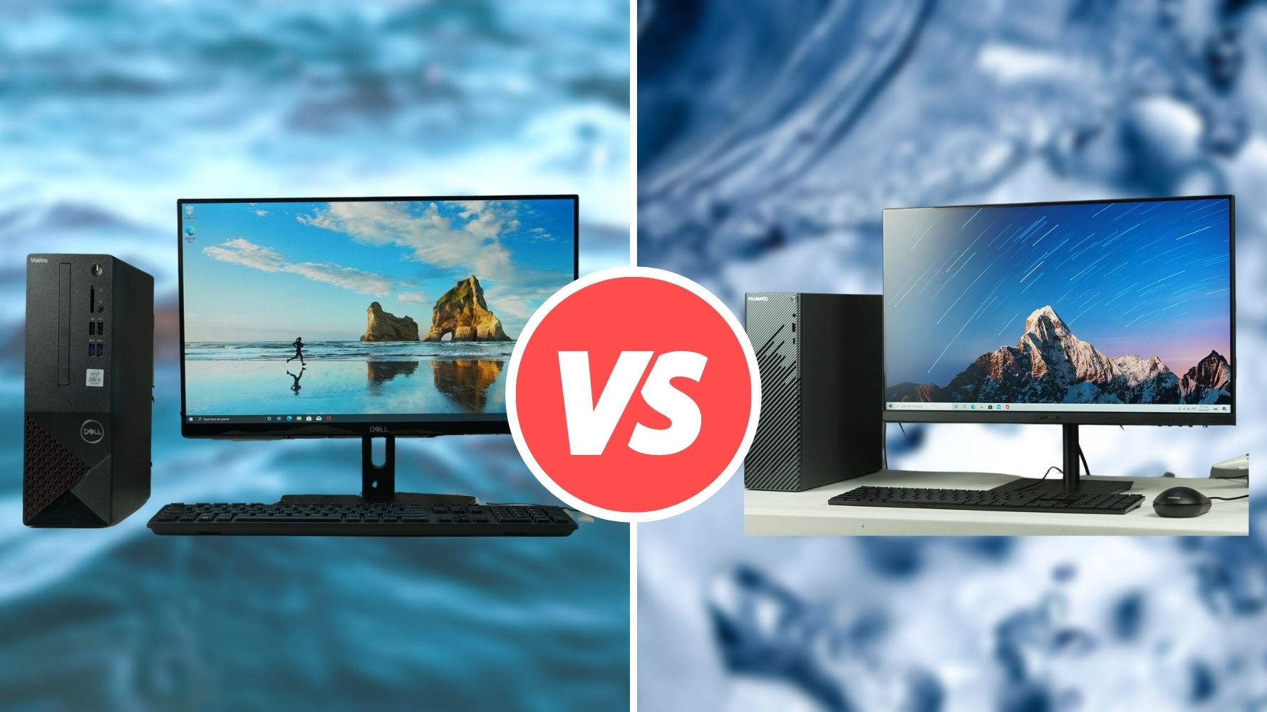 Best Work From Home PC Upgrade: Huawei MateStation S VS Dell Vostro 3681