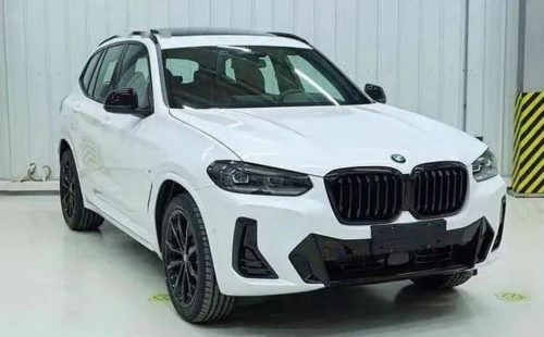 2022 BMW X3 facelift leaks again ahead of unveiling