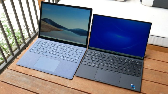Dell XPS 13 vs. Microsoft Surface Laptop 4: Which 13-inch laptop is best?