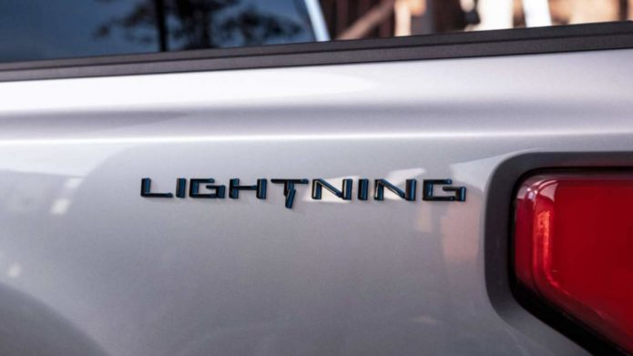 2022 Ford F-150 Lightning gives new electric pickup its EV name