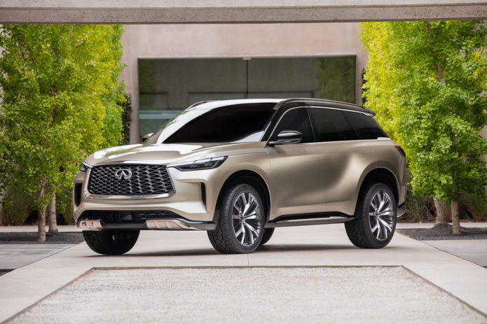 2022 Infiniti QX60 Will Debut in Production Form June 23
