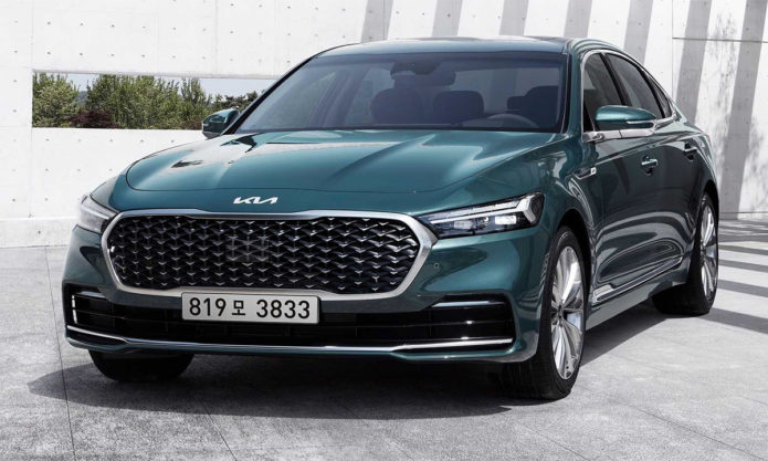 2022 Kia K9 Officially Revealed With Substantial Facelift
