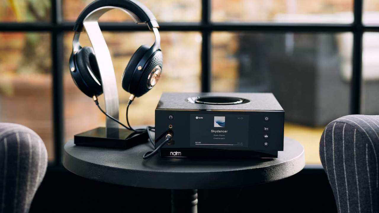Naim Uniti Atom Headphone Edition puts amp and streaming apps in one lavish box