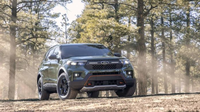 2021 Ford Explorer Timberline pairs off-road upgrades with double-take styling